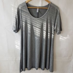 Lularoe Gray Simply Comfortable Top